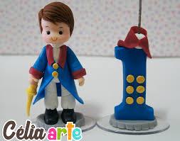 Bolo Pequeno Príncipe: Topo de Bolo com vela