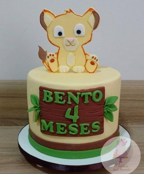 bolo cute mesversário