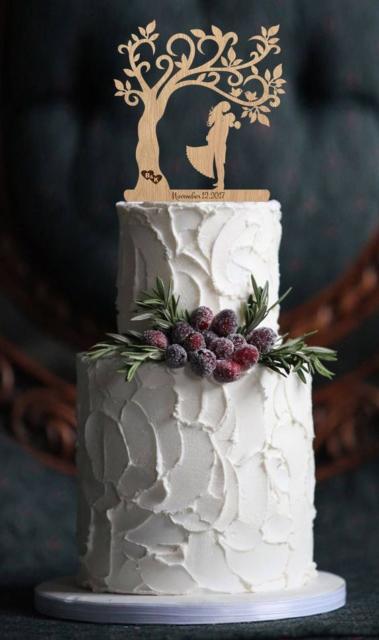 Bolo Rústico: Para casamento com frutas