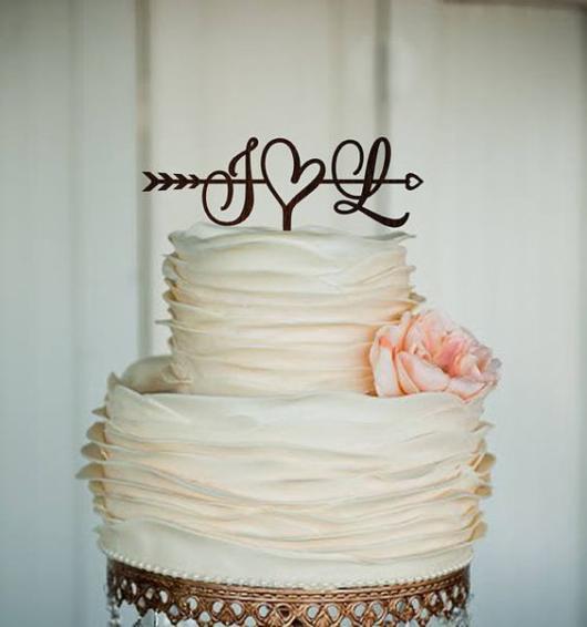 Bolo Rústico: Para casamento com pasta americana