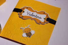 convite abelhinha com impressão