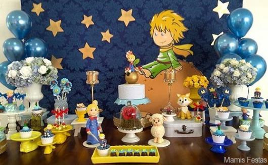 decoração festa pequena