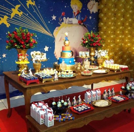 decoração festa de luxo