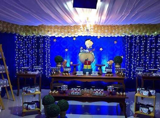 festa decorada com bexigas