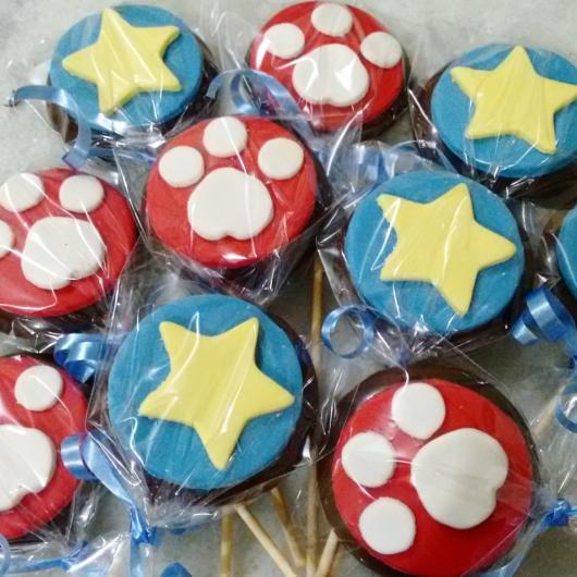 Doces Patrulha Canina: cupcake
