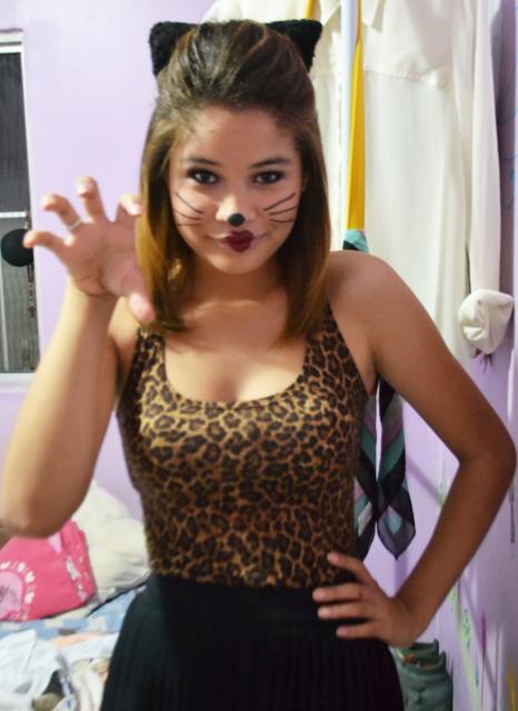 Fantasia de gatinha: Para Carnaval