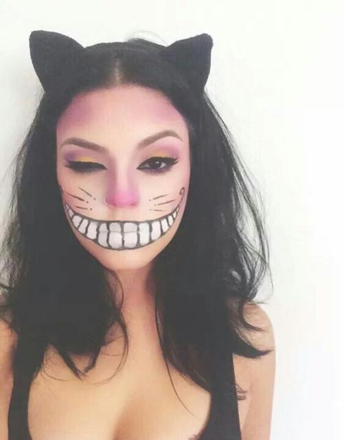 Fantasia de gatinha: Para Halloween