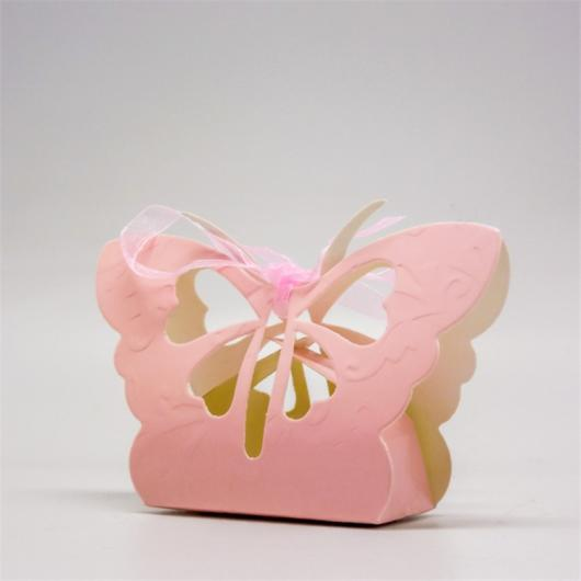 Lembrancinha singela de borboleta rosa