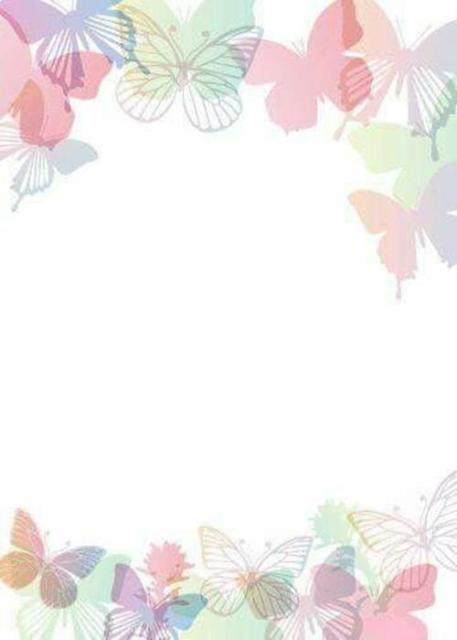 Convite super delicado para imprimir de borboletas