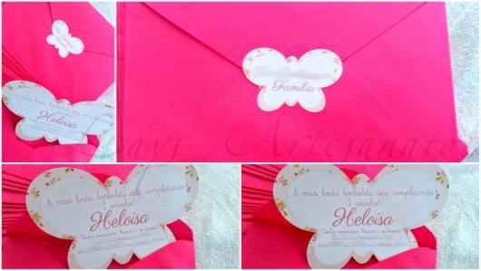 Que tal então um convite + envelope
