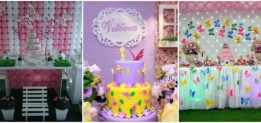 Conheça com a gente inúmeras ideias de decoração de festa borboletas!