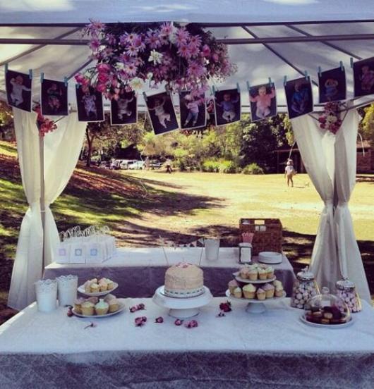 Festa no parque: decoração de casamento com gazebo
