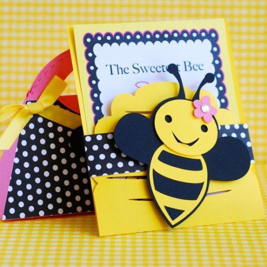 ideias para convite abelhinha