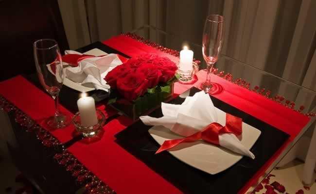 Surpresa de aniversário para marido: Jantar romântico