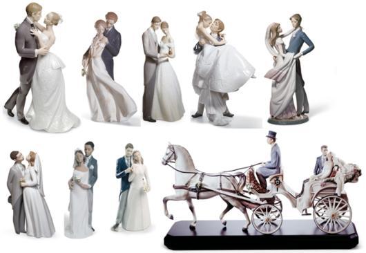 Modelos de topos de bolo de porcelana para todos os gostos