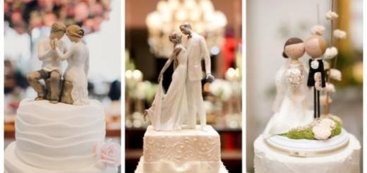 Conheça nesse post uma série de topos de bolo incríveis para seu casamento!