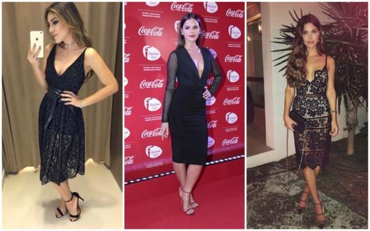 modelos de vestido midi