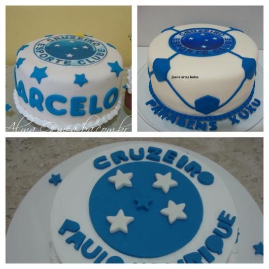 O acabamento faz toda a diferença na decoração do seu bolo do Cruzeiro