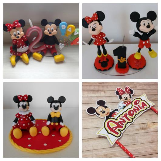 50 inspirações de topo de bolo Mickey + as melhores dicas para incrementar a decoração da sua festa