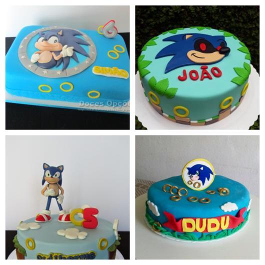 Bolo do Sonic – Os 60 Melhores Modelos com Dicas Preciosas!