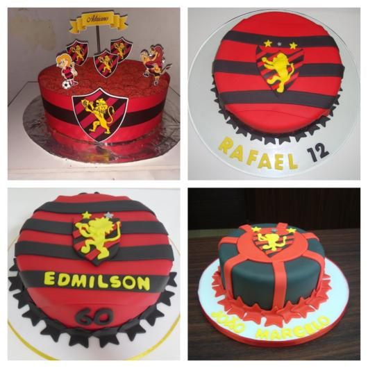 Customize o bolo de acordo com o perfil do aniversariante e principalmente de acordo com o tom da festa