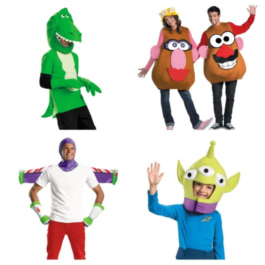 Além dos protagonistas, você pode homenagear uma série de figuras que fazem parte de Toy Story!