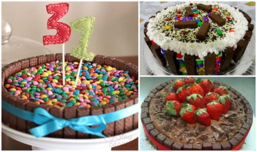 Que tal então utilizar os chocolates Bis para deixar o bolo mais saboroso?