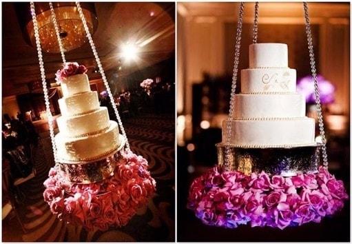 O bolo branco é a melhor opção para festas de casamento