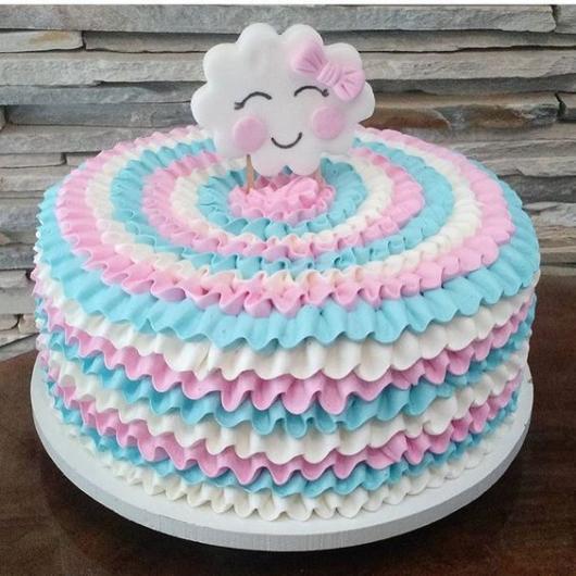 topo de bolo nuvem