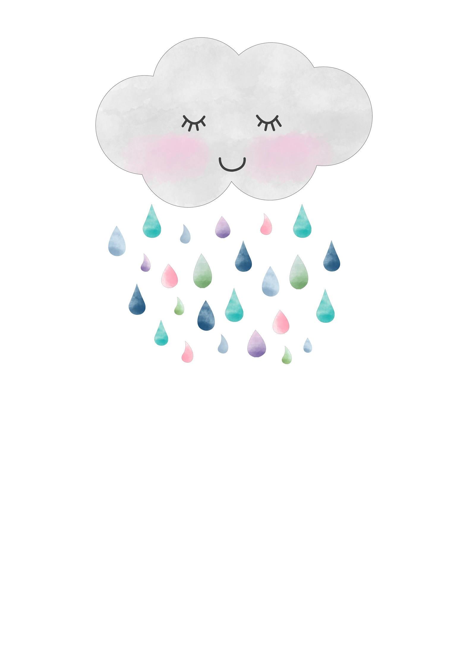 convite chuva de amor