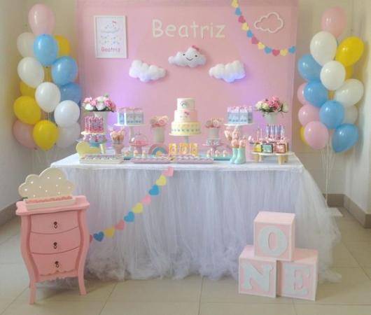 festa bebê menina