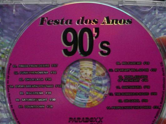 Para quem ama os populares CDs que eram febre na década de 90