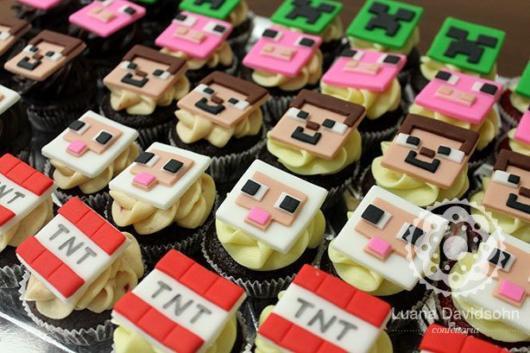 As crianças vão adorar esses cupcakes lindos e customizados