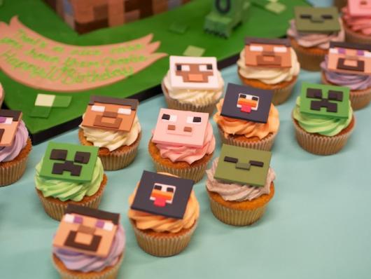 Cupcakes temáticos e lindos para agradar todos os convidados, bem como o aniversariante