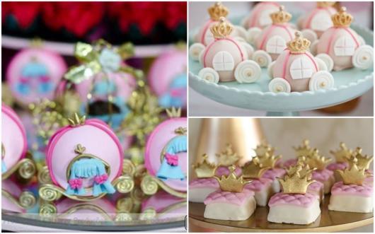 doces festa princesa