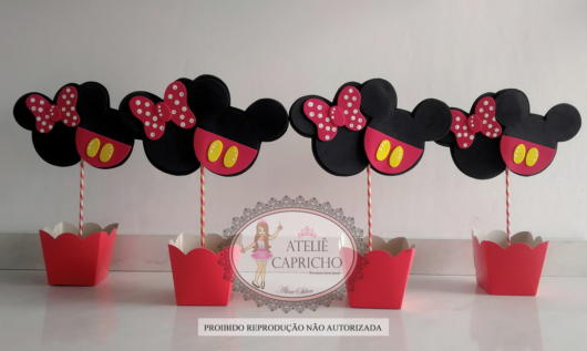 Mickey e Minnie juntos, o que acha? As crianças vão adorar!