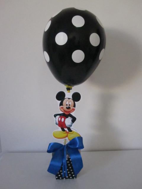 Molde impresso com um balão que é a cara do personagem
