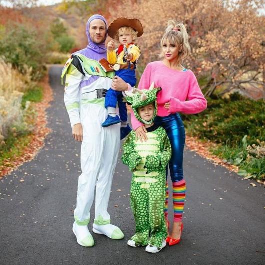 Veja como a fantasia de família temática é uma boa ideia para diversas festas