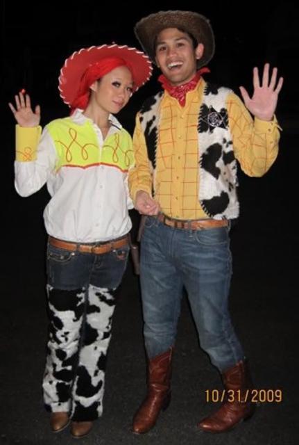 Woody é a principal escolha para uma fantasia Toy Story de casal