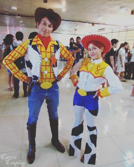Jessie e Woody, que tal seguir esse padrão?