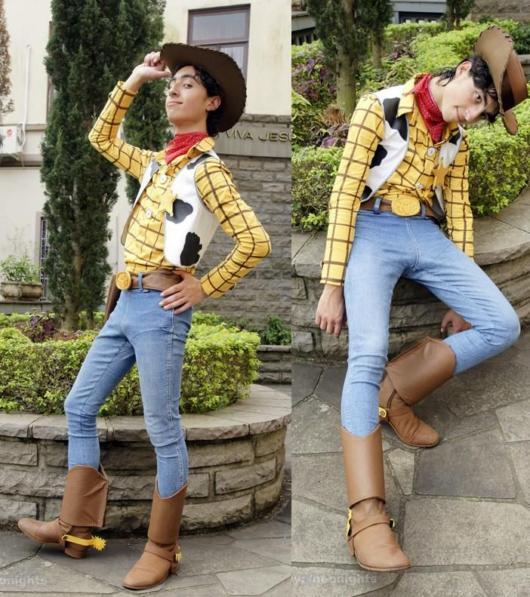Fantasia Toy Story impecável do Woody