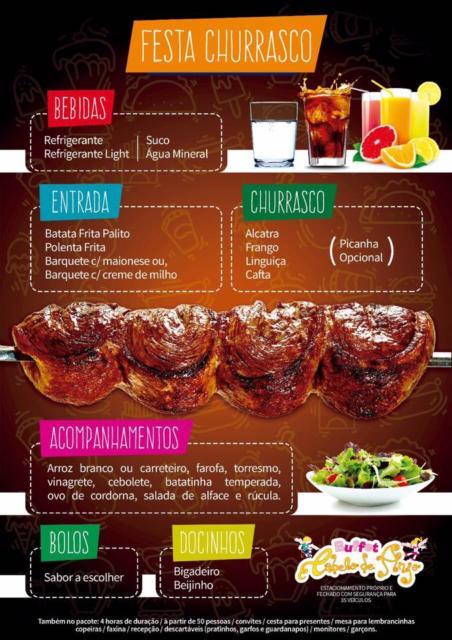 Festa churrasco: um estilo de comemoração muito popular!