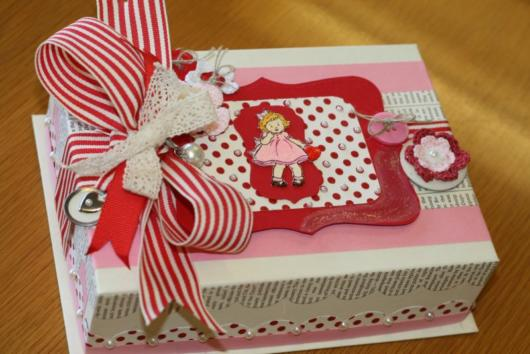 Festa na caixa infantil: rosa