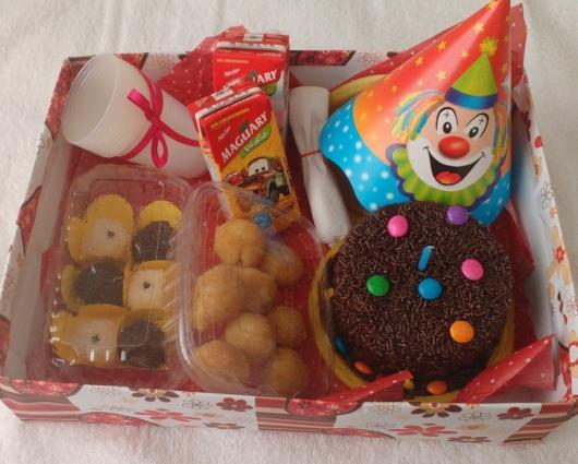 Festa na caixa infantil: Circo