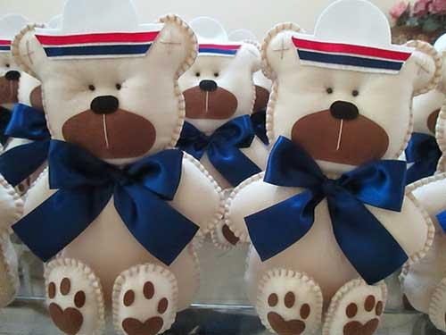 lembrancinha urso da festa ursinho marinheiro