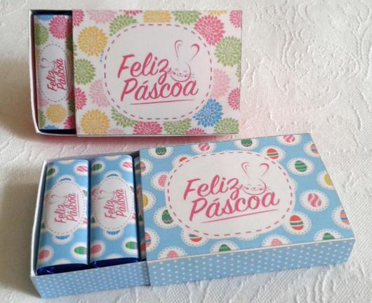 Embale os chocolates com um papel personalizado