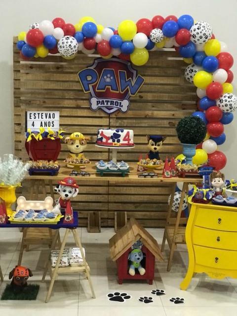 decoração rústica festa infantil