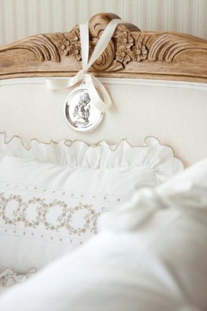 Mimo de batizado para pendurar na cama