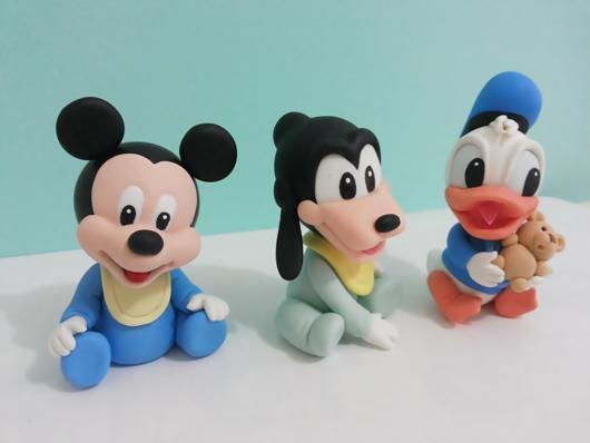 Lindos modelos para incrementar um bolo cenográfico do Mickey