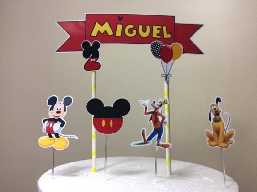 Mickey e seus amigos nesse topo de scrap